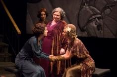 Virgilia in CORIOLANUS at the Alabama Shakespeare Festival